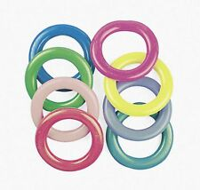 CARNIVAL CANE RACK RINGS (LOT OF 12) toss a ring around a Bottle WIN a prize!