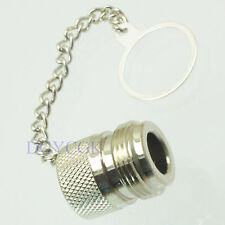 2pcs connector dust cap with chain for N RP*N male plug
