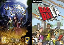 The Book of Unwritten Tales 2 & american mcgee pesents bad day la    new&sealed