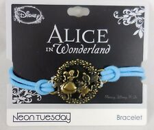 New Disney Alice In Wonderland That Way Cord Bracelet White Rabbit