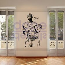 2Pac Tupac Thug Life Rapper Hip Hop Legend DIY Large Wall Art Sticker/Decal