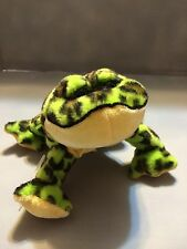 GANZ Webkinz Plush Spotted Frog - no code - Excellent Condition!
