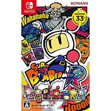 Super Bomberman R Nintendo Switch Japanese Import Japanzon