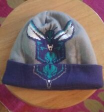 Adidas Hat CHARLOTTE HORNETS NBA KNIT BEANIE Toboggan WINTER Mens New Era Fr Shp