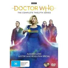 Doctor Dr Who Complete Twelfth Series Season 12 5mint Discs Like DVD