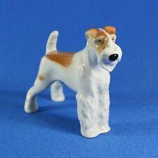 Airedale Terrier Figurine Lomonosov Porcelain Russia USSR LFZ