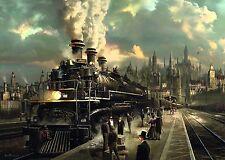 Locomotive: Sarel Theron Train Jigsaw Puzzle 1000 pieces 58206