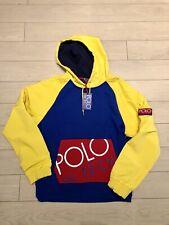 NWT Polo Ralph Lauren Hi Tech Hybrid Hoodie Sweatshirt XXL Yellow Pullover