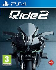 Ride 2 [PlayStation 4 PS4, Region Free, Moto-Sim, 230 Motorcycles, 30 Tracks]