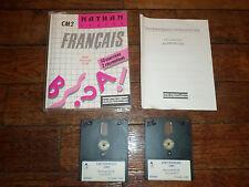Jeu Amstrad CPC 6128 - FRANCAIS CM2 - Cedic / Nathan