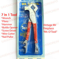 MULTIPURPOSE TOOL 7 IN 1 WRENCH PLIERS HAMMER WIRE CUTTER NAIL PULLER MULTI-TOOL