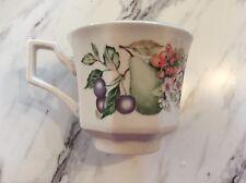 Johnson Bros New Tea Cup Mug Fresh Fruit NWT