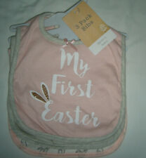 Modern Baby - My First Easter Bib Set - 3-Pieces (New)