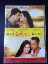 And I Love You So Filipino Dvd