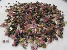100g GEMSTONE Mini Chips Natural tourmaline Small Stones crystal/Wholesale