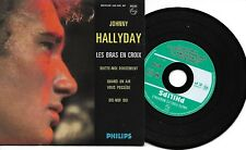 CD CARTONNE 4T JOHNNY HALLYDAY REEDITION DU EP ORIGINAL< COMME NEUF>
