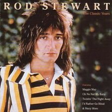 Rod Stewart The Classic Years CD NEW SEALED Maggie May/Oh No Not My Baby/Jodie+