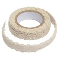 Decoration band lace ribbon fabric tape Christmas wedding border gift J4B3