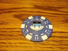 U.S. AIR FORCE ACADEMY Seal Poker Chip,Golf Ball Marker,Card Guard Blue/White