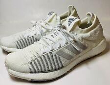 Adidas Men's Pulseboost HD White/Grey Size 10.5