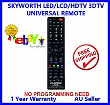 SKYWORTH REMOTE CONTROL FOR LED/LCD/HDTV/3DTV Ideal ReplacementL