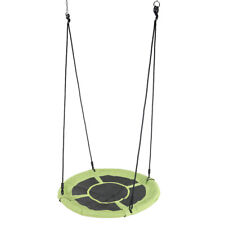 40'' Tree Swing Chair Oxford Web Net Kids Outdoor Round Hanging Rope Tire Saucer