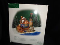 Dept 56 Dickens Village LYNTON POINT TOWER #58315 Lighted Lighthouse WORKS -MINT