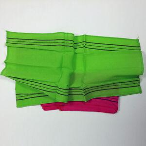2pcs  Korean Italy Towel Exfoliating Long Viscose Bath Back Washcloth Bath towel