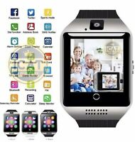 Camera Bluetooth Smart Watch with Sim & TF Card Slots & Fitness Activity Tracker