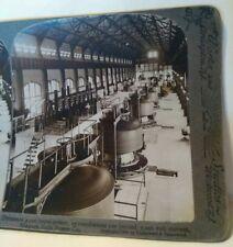 5000 hp Dynamos Niagara Falls NY 1908 industry Sun Sculpture Trademark Underwood