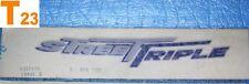 1 autocollant de coque arrière TRIUMPH STREET TRIPLE 675 réf.T2307635 neuf