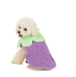 Vegetable Dog Coat Jacket Winter Puppy Chihuahua Clothes for Small Medium Dogs