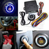 Car Ignition Switch 12V  Engine Start Push Button Keyless Entry Starter Kits