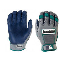 Franklin Sports MLB Cano Baseball Batting Glove Gray/Navy 20664
