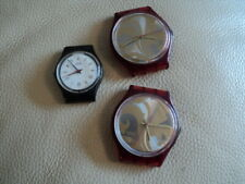 Job Lot of 3 Vintage Swatch Watches 2 AG 1990 & Small AG 1986 For part or Repair