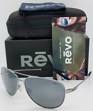 NEW Revo Windspeed sunglasses RE 3087 300 Lead Grey Polarized Aviator RE3087