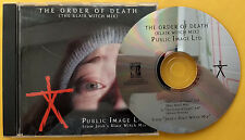 PUBLIC IMAGE LTD The Order Of Death PROMO CD SINGLE Blair Witch Project REMIX 99