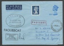 Western Samoa black PAQUEBOAT & red boxed PAQUEBOT on 1992 cover