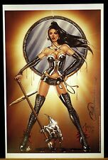 "Grimm Fairy Tales ""Drawn Blood"" Art Print by Billy Tucci & Nei Ruffino Signed!"