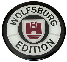 VW WOLFSBURG EDITION Badge Emblem Fender Grill Trunk Hatch GTI MK1 MK2 MK3 MK4