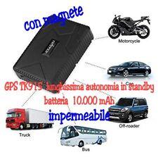 LOCALIZZATORE TRACKER GPS TK 915 IMPERMEABILE LUNGO STANDBY MAGNETE  ANTIFURTO