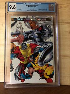 The Uncanny X-Men #325 (Oct 1995, Marvel) CGC 9.6 Double Gatefold cvr Prism Logo