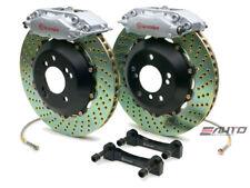 Brembo REAR GT Brake BBK 4piston Silver 345x28 Drill BMW E60 04-10 E63 E64 04-11