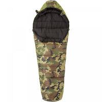 Camoflauge Mummy Sleeping Bag 30 Degree Polyester Outdoor Camping Hiking Gear