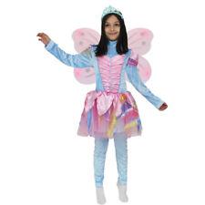 FARFALLA WINX BLU' costume CARNEVALE bambina con ali 6/7 anni PEGASUS srl
