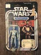 STAR WARS 1978 TAKARA C-3PO 12 Back MOC VINTAGE AFA Japan