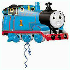 Party Supplies Birthday Boys Shape Foil Balloon Thomas The Tank