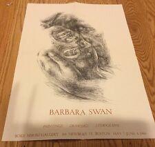Barbara Swan Ad Paintings Drawings Litho Poster Print Boris Mirski Gallery 1966
