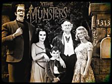 "Vintage 1960s ""The Munsters"" tv show, Refrigerator Magnet, 40 MIL"