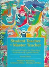 Student Teacher to Master Teacher: A Practical Guide for Educating Special Needs